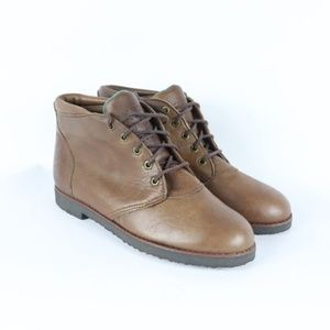 Vintage New Red Wing Shoes Chukka Boots Womens USA